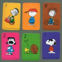 Snoopy  Collectible cards game Born Loser